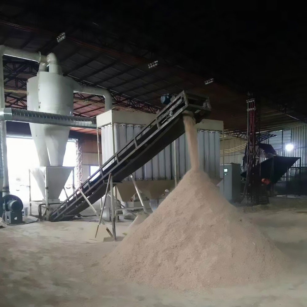 High efficiency wood sawdust producing wood crusher machine hammer mill