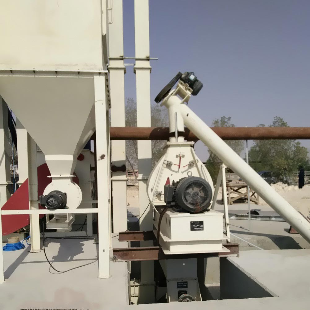 Poultry feed grain hammer mill