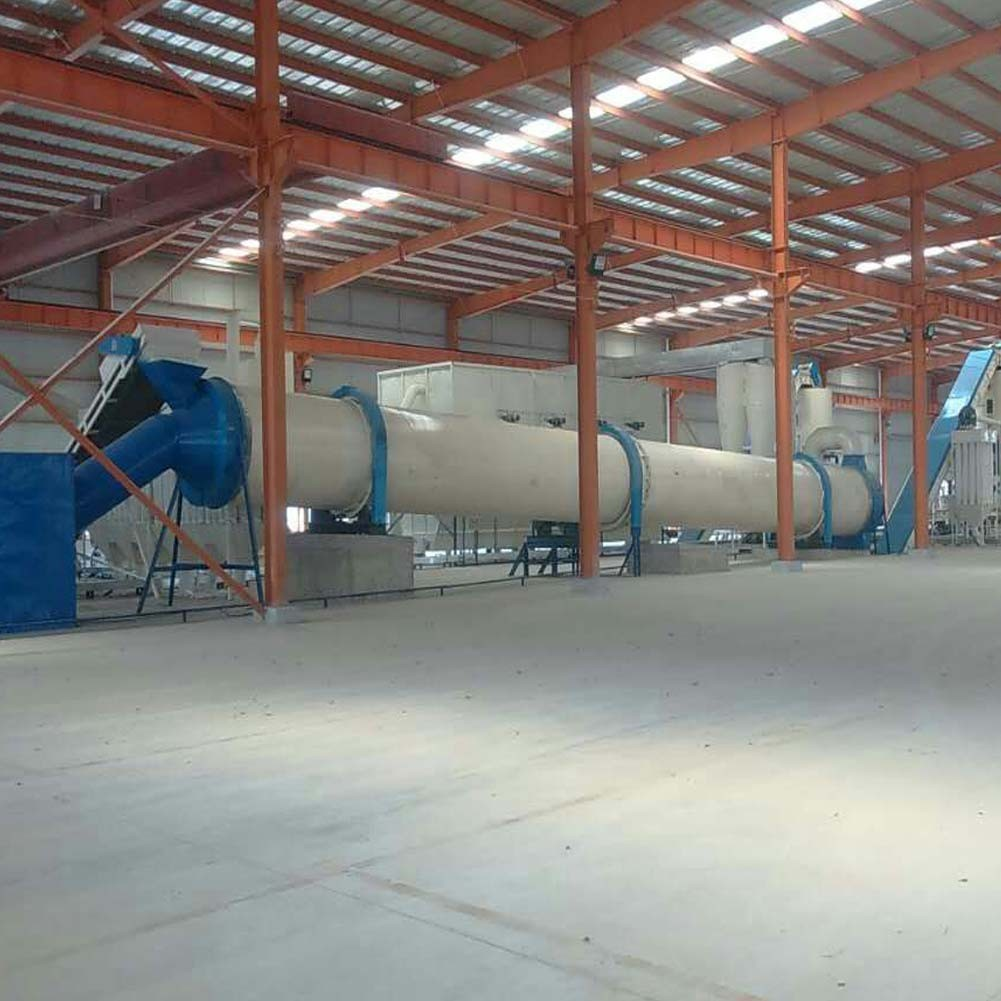 Factory direct supply high efficient biomass wood sawdust rotary dryer