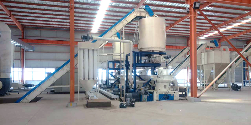 10 T/H straw pellet production line in Anhui (图3)