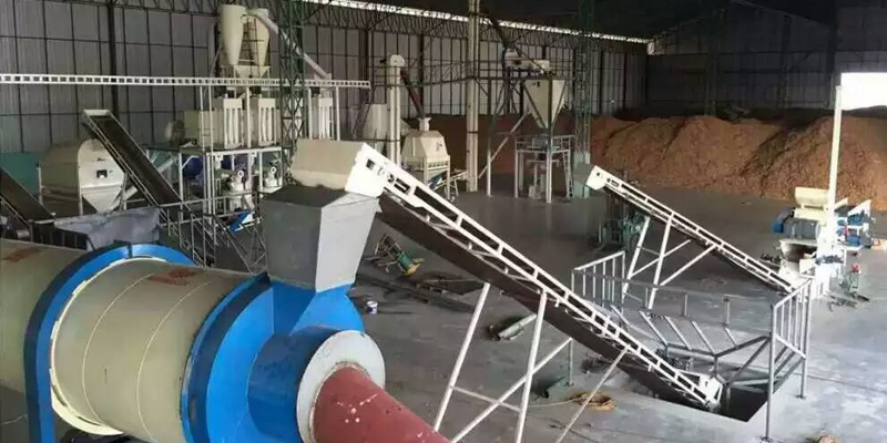 6 T/H wood pellet production line in Thailand (图3)